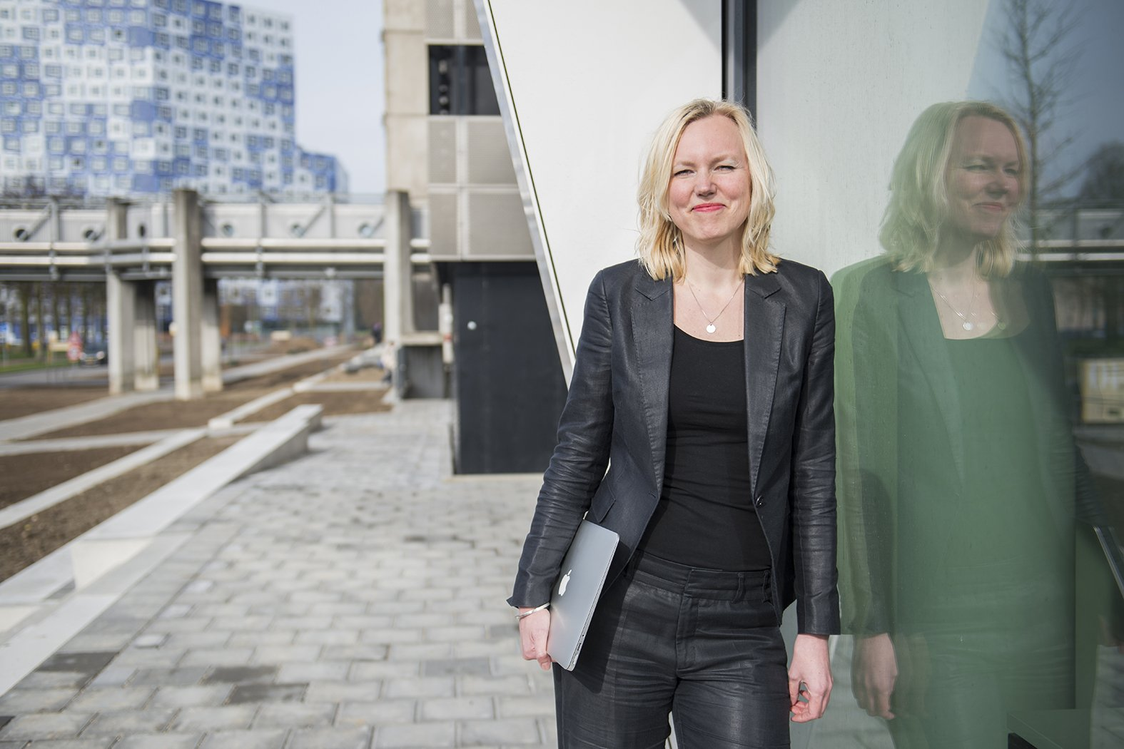 Marije Werelds hoofd IT van de faculteit Diergeneeskunde en initiatiefneemster van deelname aan Girls Day door de Universiteit Utrecht.