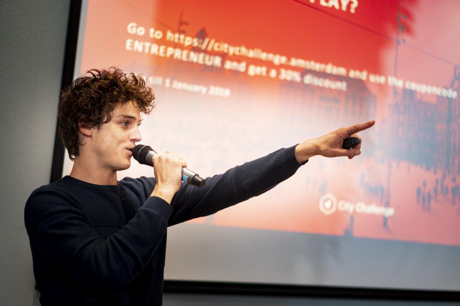 Luuk Koedam on being a student entrepreneur