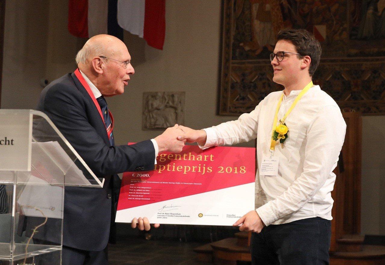 Felix Kümmerer wint Vliegenthart Scriptieprijs