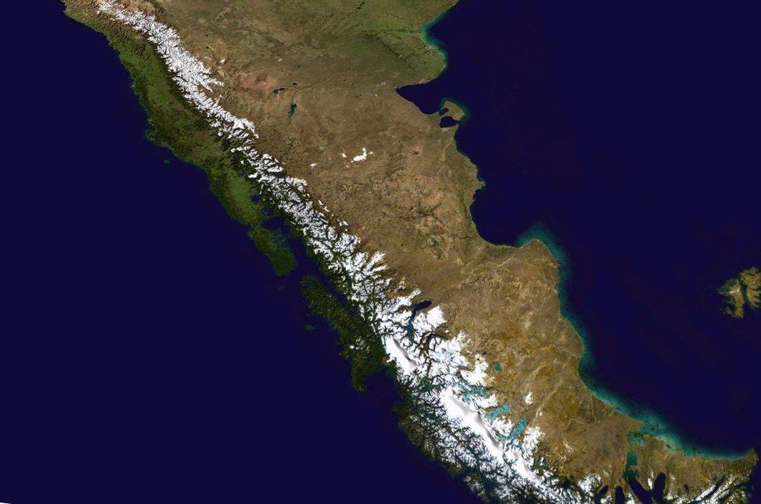 Afbeeldingsresultaat voor Nieuwe theorie over vorming Andes