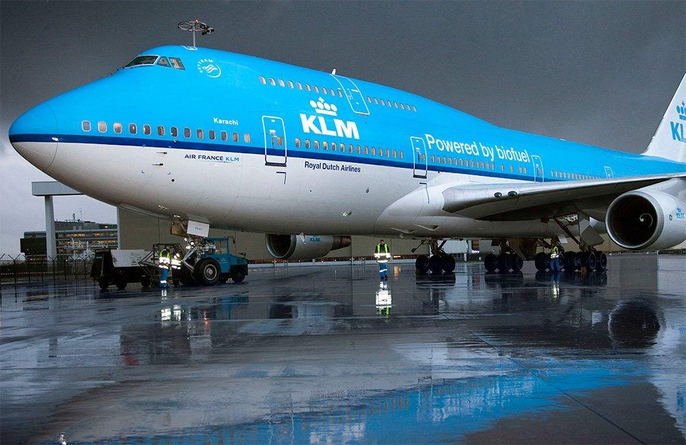KLM Biofuel
