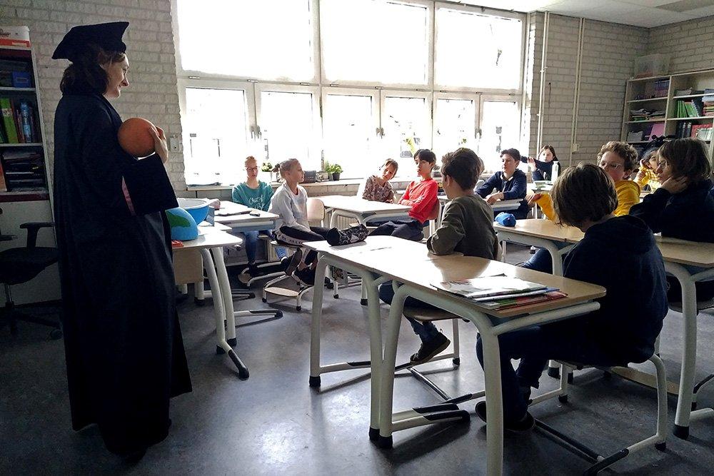 Arwen Deuss bij Meet the Professor