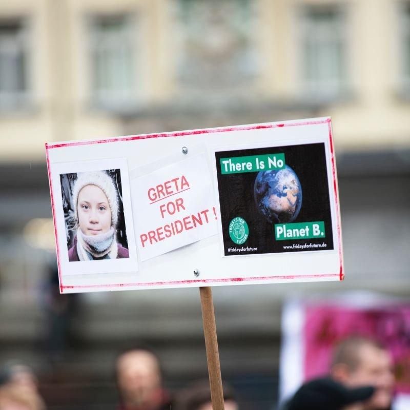Greta Thunberg There is no planet B