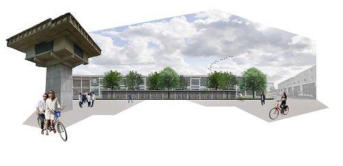 Fietsenstalling Leuvenplein