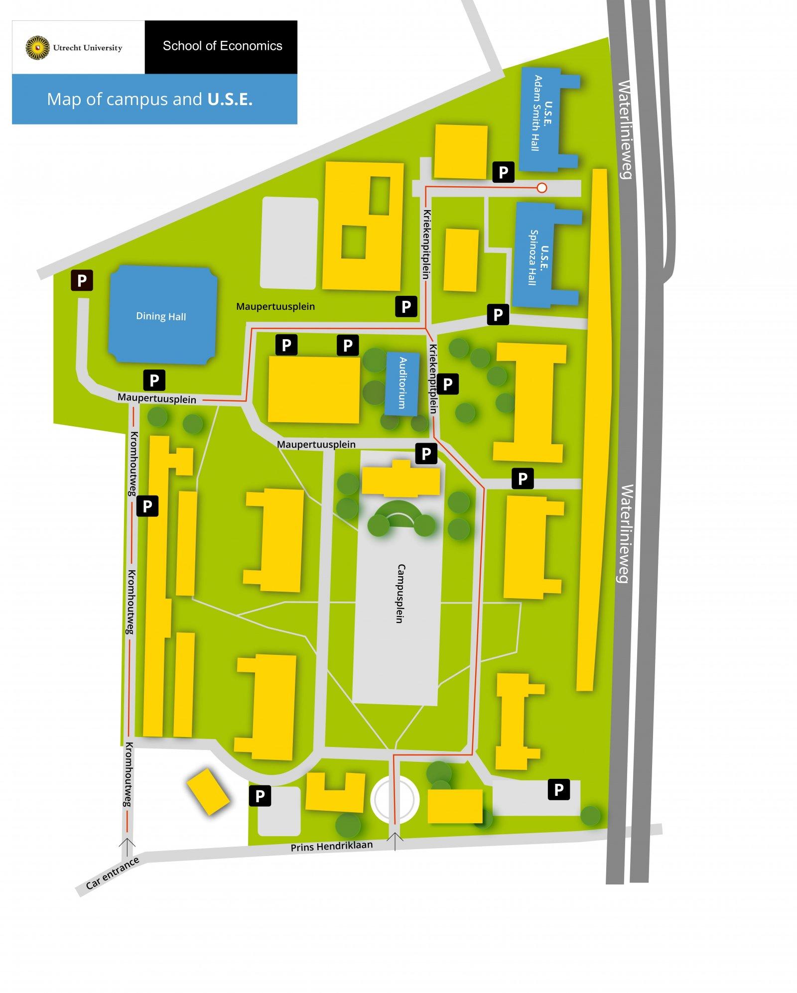 ICU map