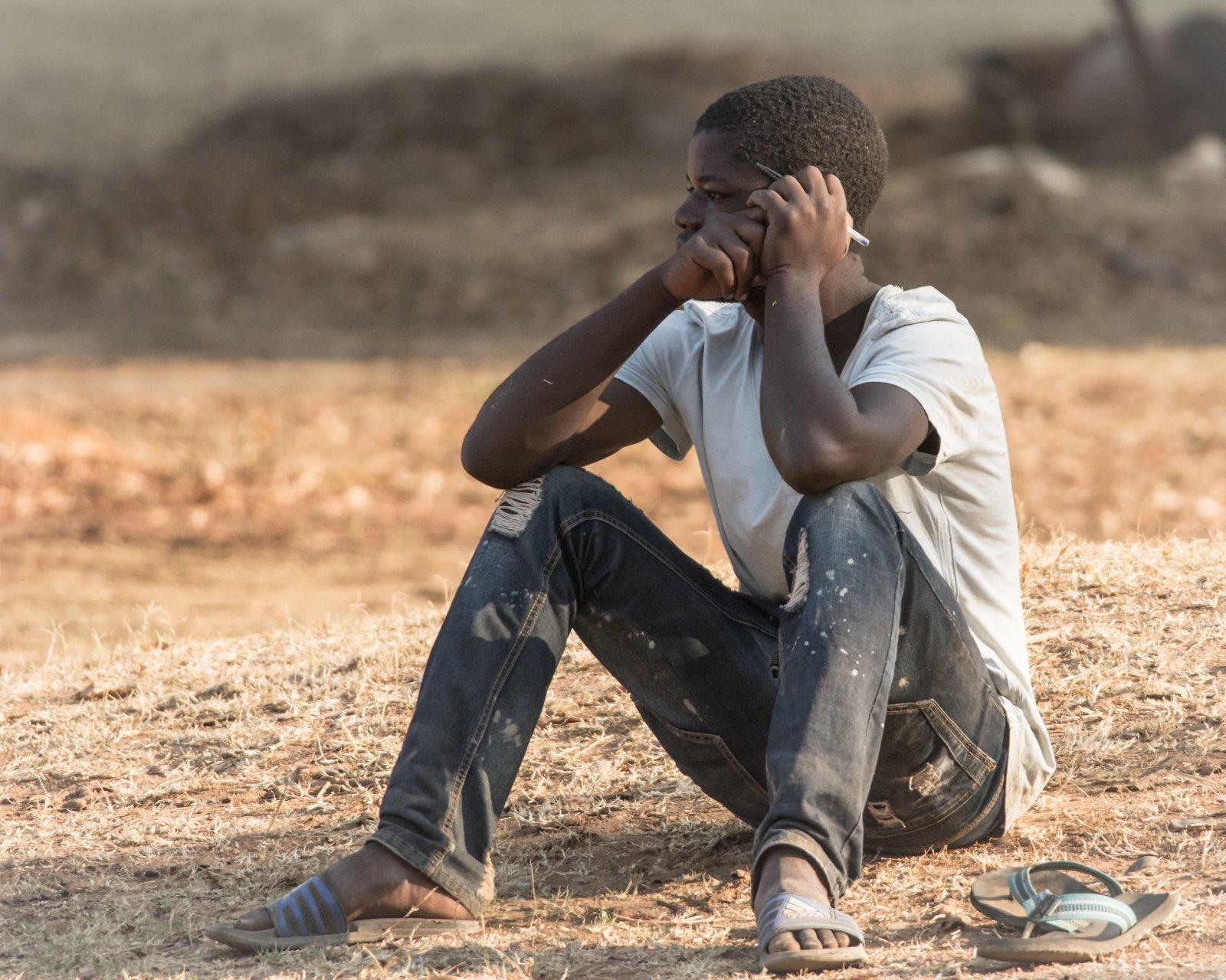 Ex-Satanist in Zambia, foto van Johanneke Kamps