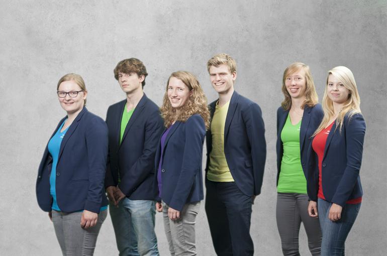 Het Utrecht Physics Challenge Team.