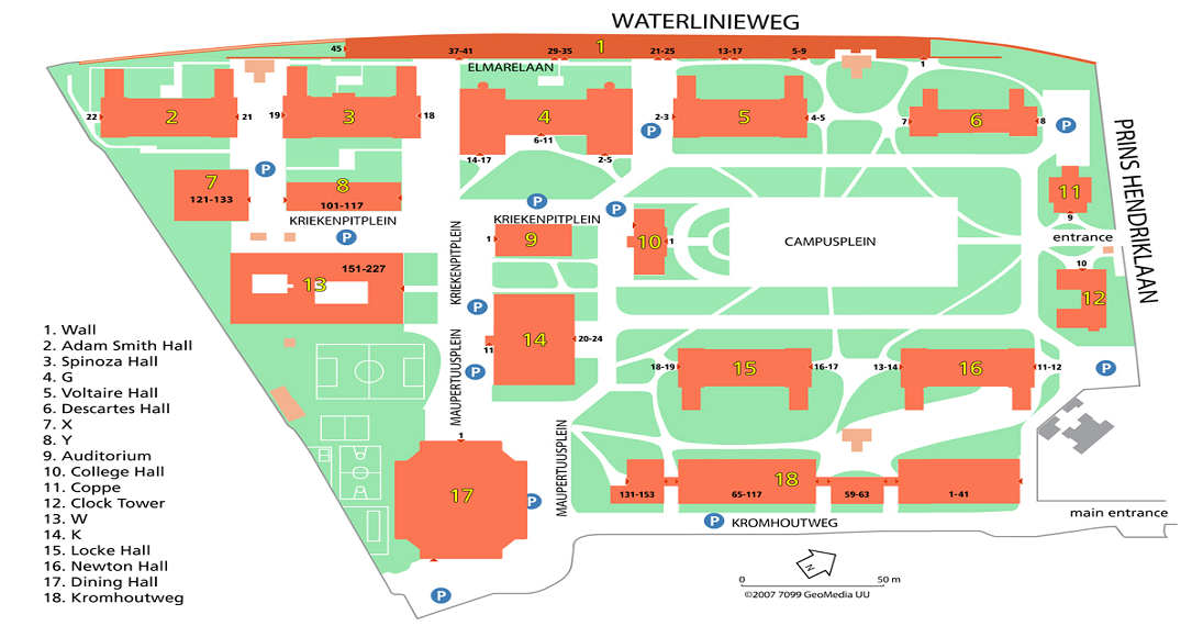 UCU Campus Map