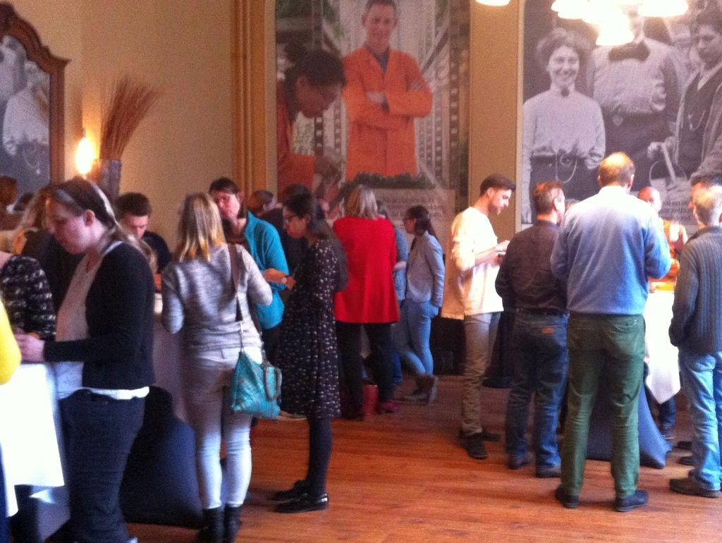 """Coffeebreak during the symposium """"Games for Learning"""""""