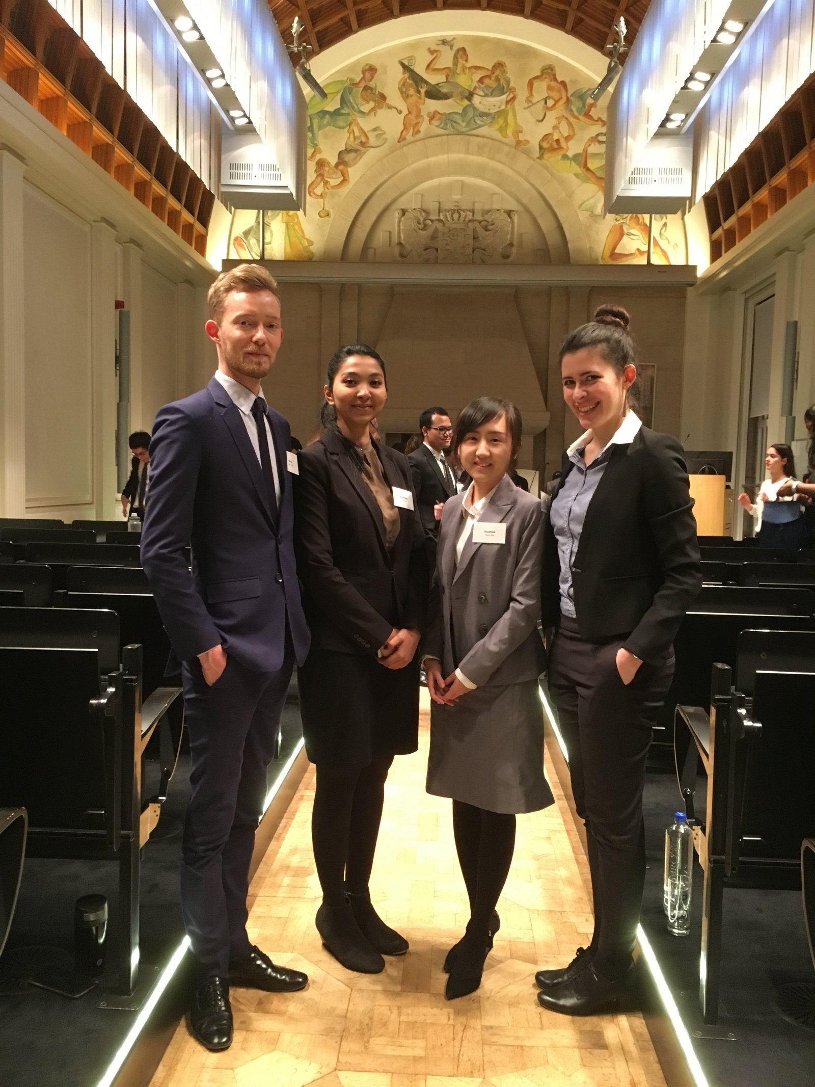Utrecht University Students at the Dutch national rounds of the Jessup 2018