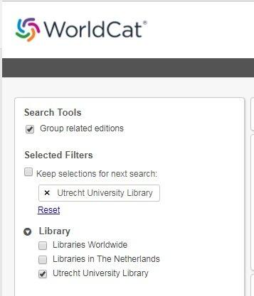 UB-WorldCat-screenshot-lokaal-zoeken-collectie-UB