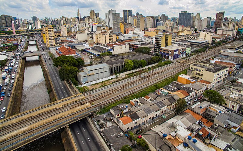 Sustainable corridor Sao Paulo