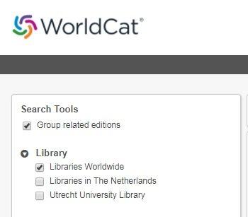 UB-WorldCat-screenshot-wereldwijd-zoeken