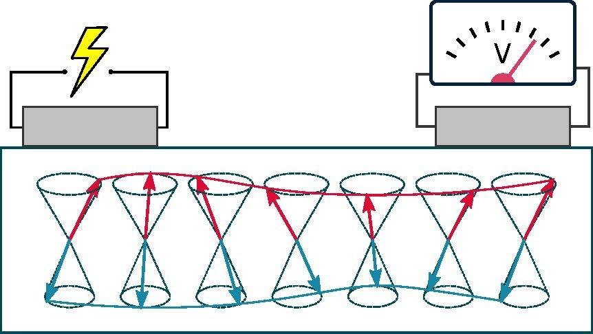 Schematische weergave van het experiment
