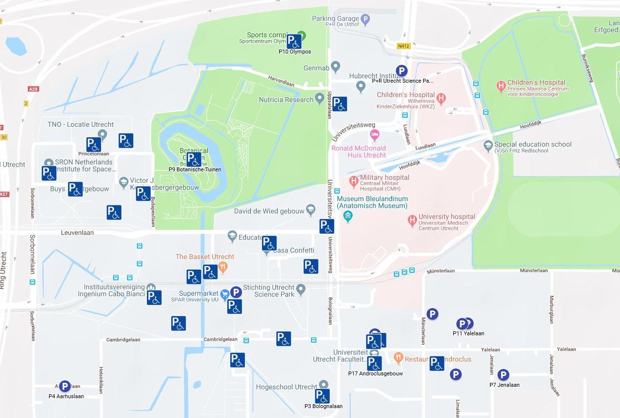 Parking Utrecht Science Park