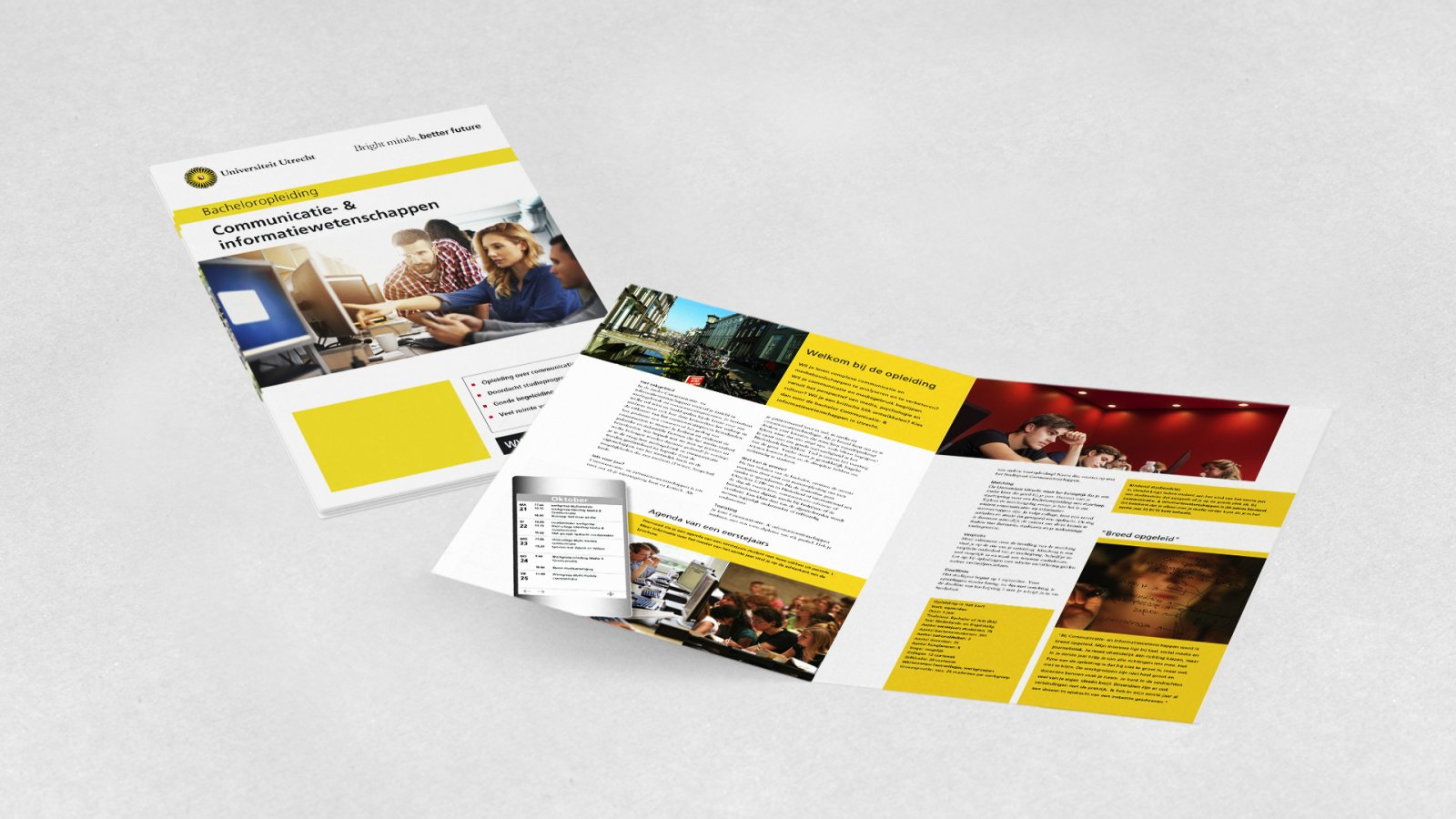 Opleidingsbrochure Communicatie en Informtiewetenschappen