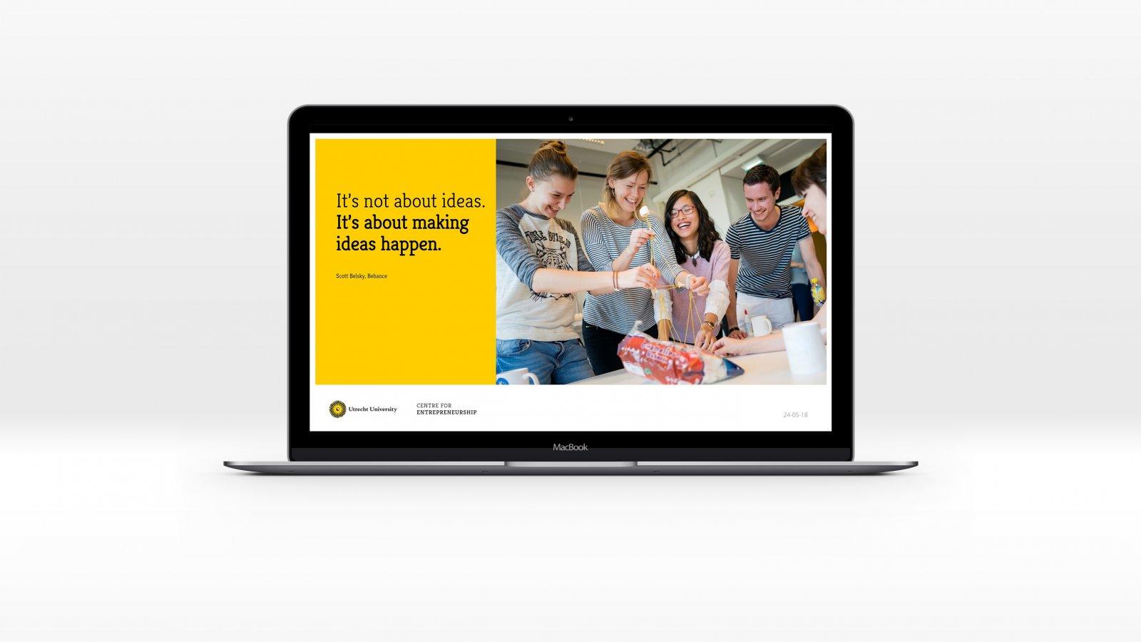 Centre For Entrepreneurship, powerpoint template