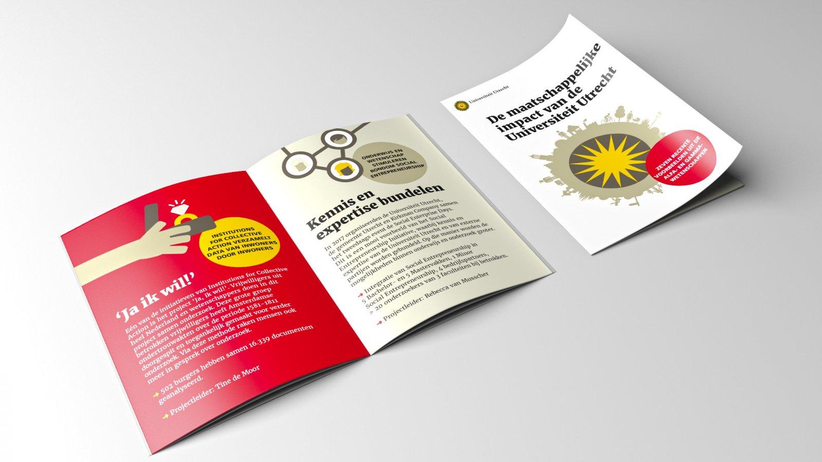 Folder over maatschappelijke impact