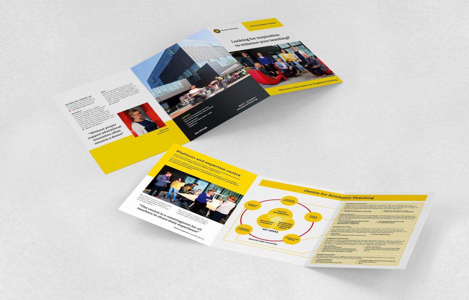 Centre for Academic Teaching, Leaflet