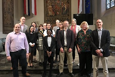 Seniordocenten van het University College London bezoeken Universiteit Utrecht