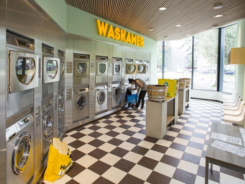 Laundry room in SSH' Johanna flat
