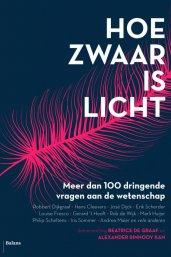 boekomslag hoe zwaar is licht
