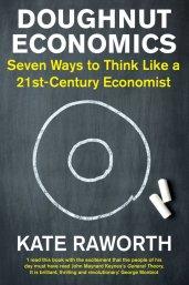 Book cover Doughnut Economics