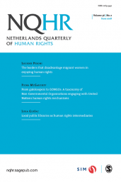 Netherlands Quarterly of Human Rights