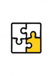 Icon of a puzzle