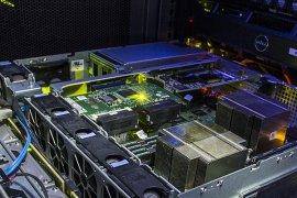 Binnenkant van een computer
