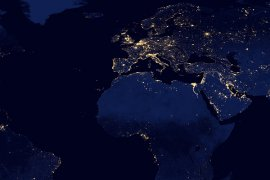 The world by night