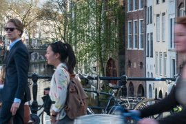 Bedrijvigheid in Utrecht