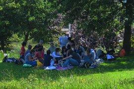 Heerlijke picknick in de Tuinen