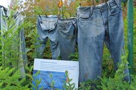 Spijkerbroeken in het themavak Verfplanten