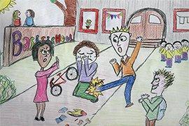 Pesten op school