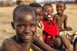 Jongeren in Kenia