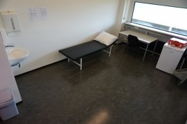 The first aid room of Androclus