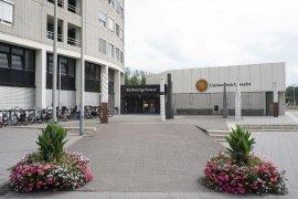 Front view of the Administration Building (Bestuursgebouw)
