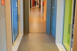Hallway at the ground floor of Bijlhouwerstraat 6