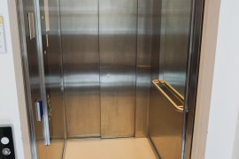 The elevator of Drift 27 - University Library City Centre