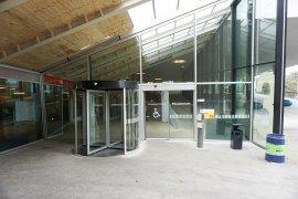 The main entrance of the Educatorium