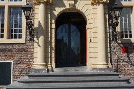 The main entrance at Janskerkhof 2-3a