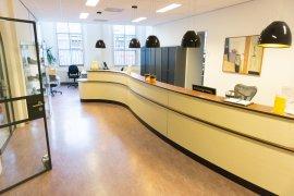 Front desk of Kromme Nieuwgracht 80