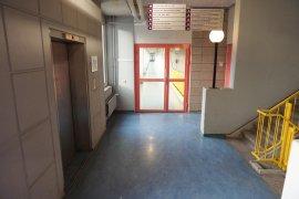 The hallway with elevators in Nieuw Gildestein