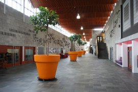 The hall of the Marinus Ruppertgebouw