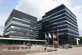 Front view of the Venig Meinesz building
