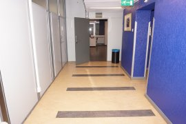 A corridor generally found in the Willem C. van Unnik building
