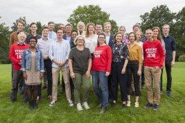Groepsfoto U-raad 2018-2019