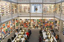 Universiteitsbibliotheek in de binnenstad
