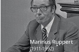 Portretposter Marinus Ruppert